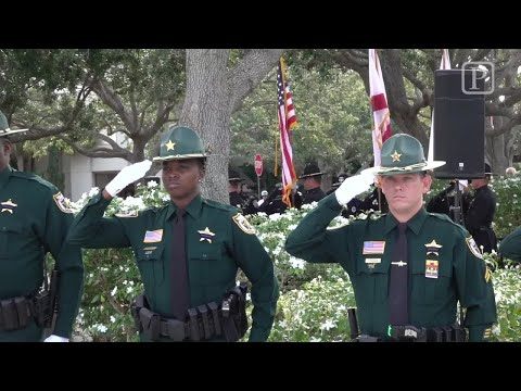 Video: PBSO Annual Fallen Deputy Memorial