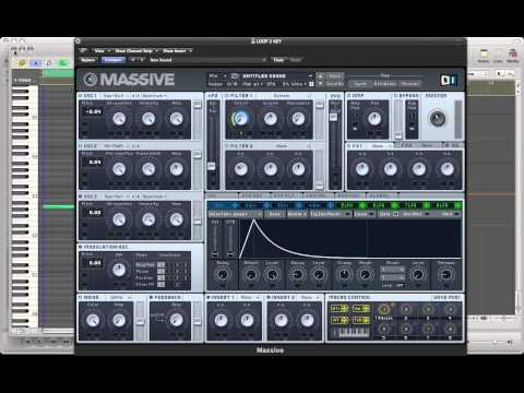 Creating A Deep House Pluck With NI Massive