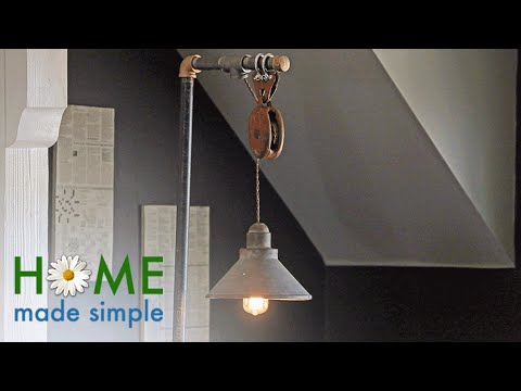 This Industrial Floor Lamp is Perfect for Any Home Office | Home Made Simple | Oprah Winfrey Network