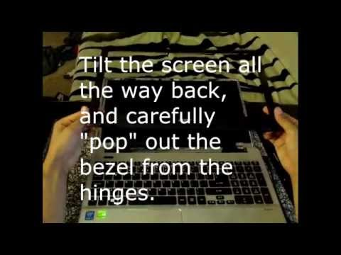 How to replace laptop screen Acer ASPIRE V3 572G 54L9