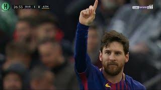 ملخص مباراة برشلونة و أتلتيكو مدريد | 1-0  | الدوري الإسباني |  4-3-2018 HD
