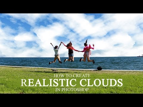 How to Create Realistic Clouds in Photoshop