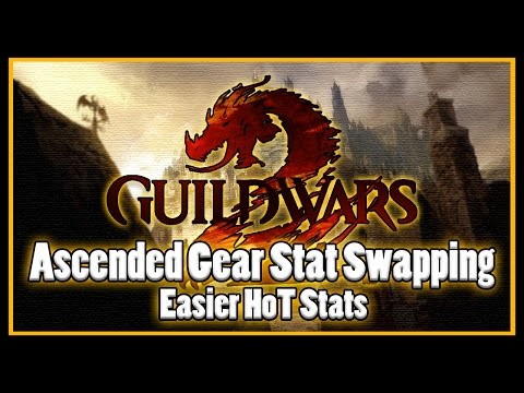 Guild Wars 2 - Ascended Gear Stat Swaping (HoT stats easier!)