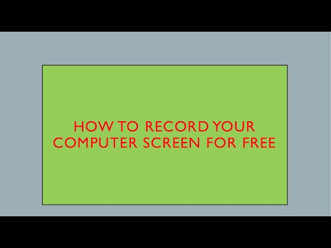 How to record  your computer screen for free / Review Quick Time Player Screen recorder