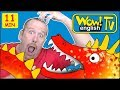 Zoo Animals Ghosts And Scary Monsters For Kids From Steve And Maggie Free Stories Wow English TV