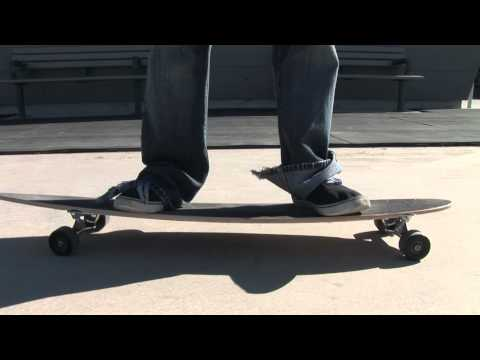Learning To Longboard - Turning