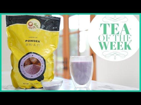 Taro Bubble Tea Power Mix by Qbubble // Tea of the Week