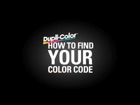 Dupli-Color Find Your Color Code: Honda