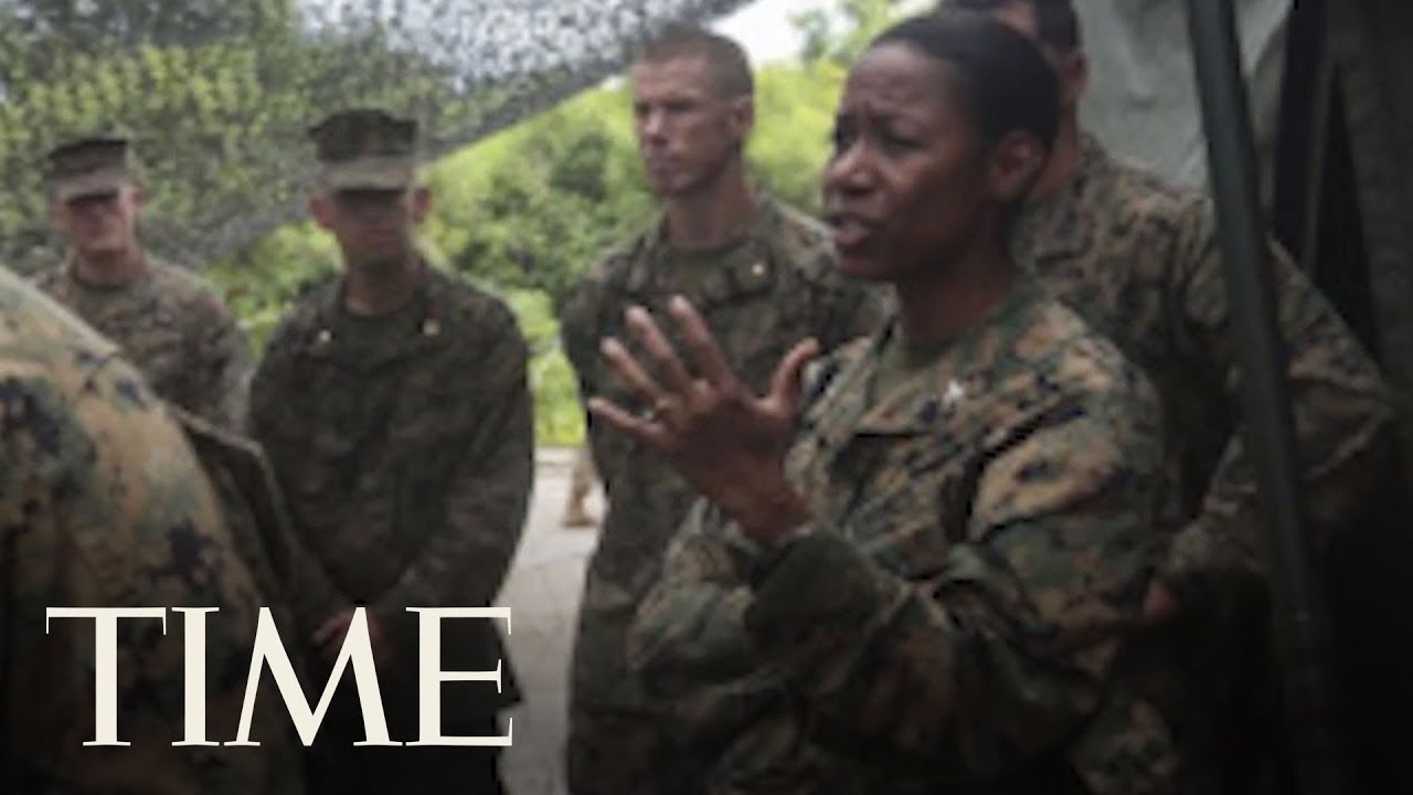 This Is The Marine President Trump Wants To Be The First Female African-American General   TIME