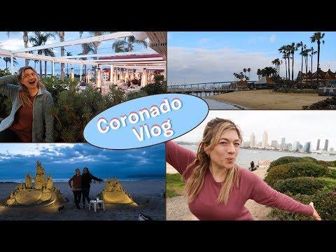 I TOOK THE FERRY TO CORONADO | San Diego Travel Vlog