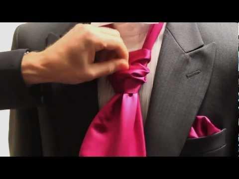 How to Tie a Cravat by Simon James