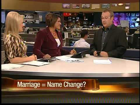 Should marriage equal name change?