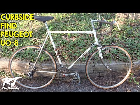 Free Bike Curbside Find - Peugeot Early 70's UO-8?