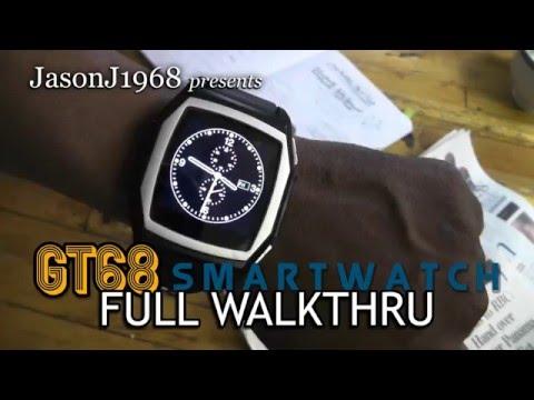 GT68 SmartWatch: Full Walkthrough