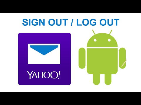 How To Sign Out/Log out Yahoo Mail On Android 2016