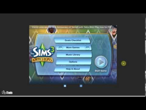 Get money fast in sims 3 ambitions on iPhone,iPod,iPad