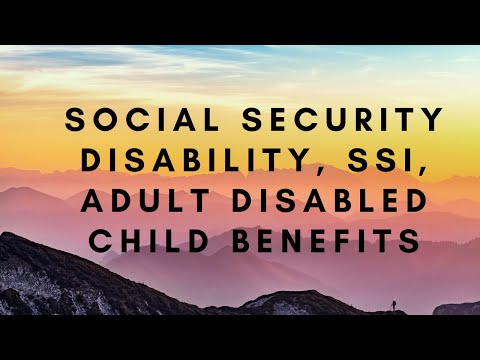 Social Security Disability, SSI, Adult Disabled Child Benefits   Sheri Abrams - Attorney In Virginia