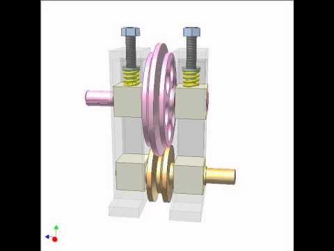 Friction roller drive 1