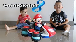 Mario Kart 8 Mini Anti Gravity R/C Racer Toys Unboxing With Ckn Toys