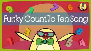 Funky Counting Song | Numbers 1-10 | The Singing Walrus