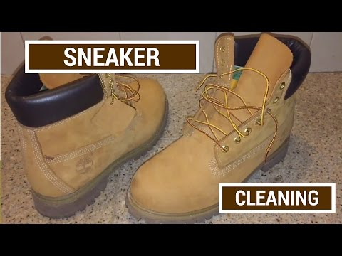 Sneaker Cleaning For Timberland Boots How To Clean Dirt And Stains Of