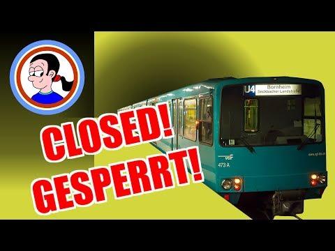 Frankfurt's U-Bahn scandal