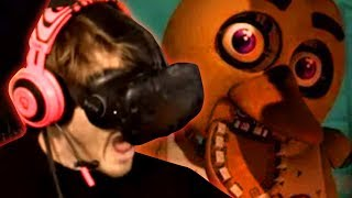 Five Nights of Freddy's VR - This game is NOT scary