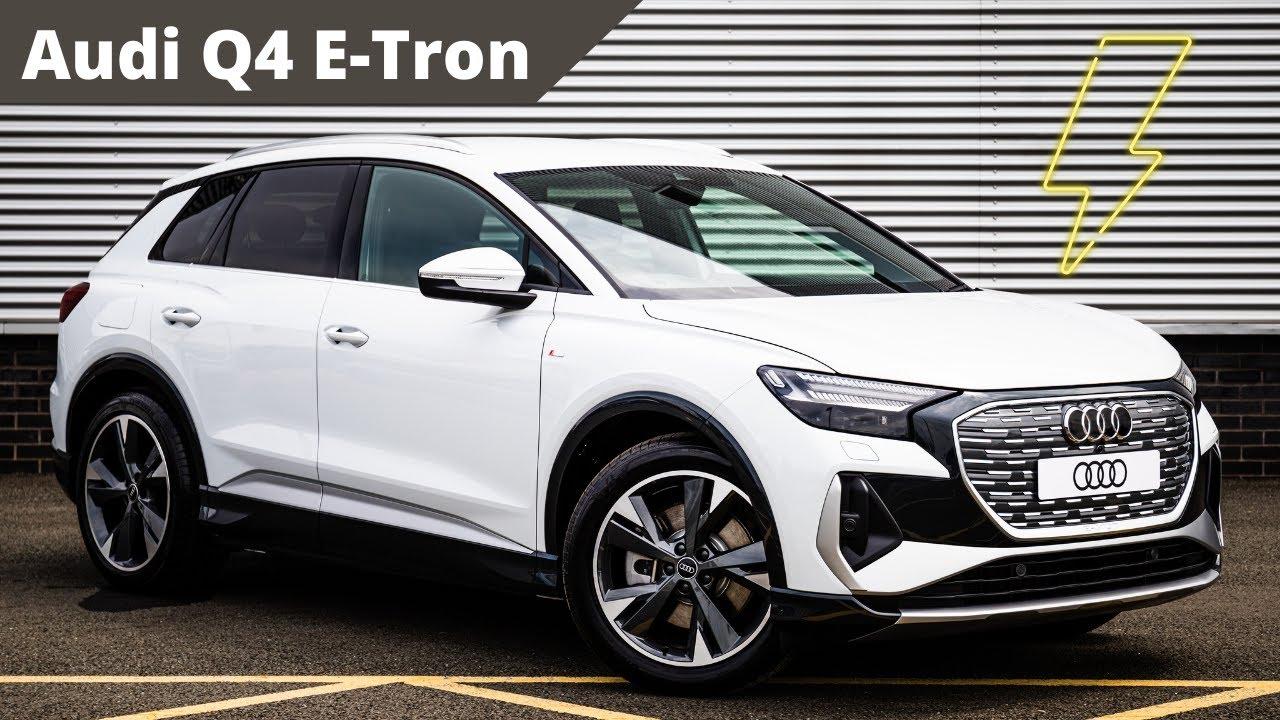 Brand New Audi Q4 Launch Edition 40 E-Tron 150,00 kW   Stoke Audi