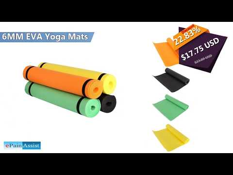 Buy Yoga Exercise Mats at Discounted Prices with Free Worldwide Shipping