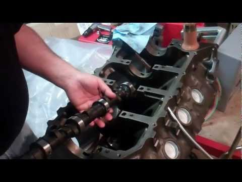 Installing Cam Bearings and Cam