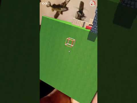 Augmented reality cube.