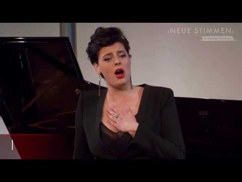 NEUE STIMMEN 2018 - Prizewinners concert: Emily D'Angelo sings
