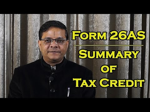 Form 26AS - Summary of Tax Credits [English] | फार्म 26AS - बहुपयोगी