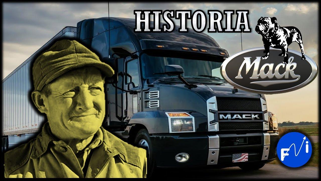 Empezó Como Obrero 👨🔧 Y Fundó Camiones Mack 🚛