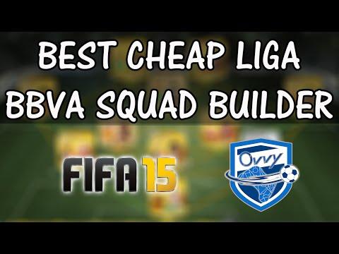 FIFA 15 FUT Squad Builder THE BEST Cheap 10k Liga BBVA Squad in ULTIMATE Team
