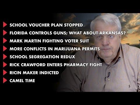 Today in Arkansas: School vouchers, guns, marijuana