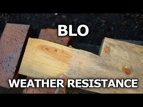 Boiled Linseed Oil Weather Resistance On Wood