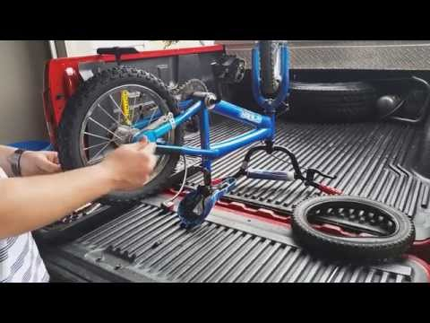 how to: how I changed the back tire and tube on my kid's bike