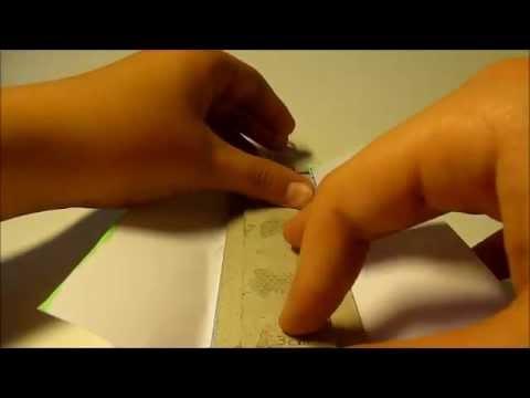 Easy DIY paper hidden blade tutorial