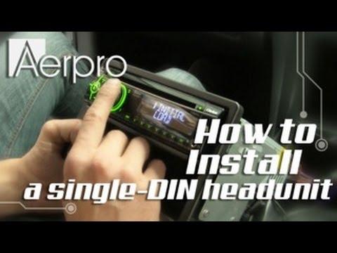 Holden VT VX Commodore Single DIN Installation Kit FP9018