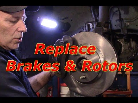 How to replace brakes and rotors 2003 Buick Park Ave