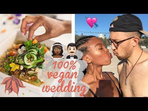 WHAT I ATE LAST WEEK | Vegan Wedding Cake & Catering Tasting