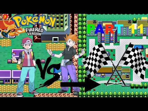 Pokemon Fire Red #11 From Lavender Town to Celadon City