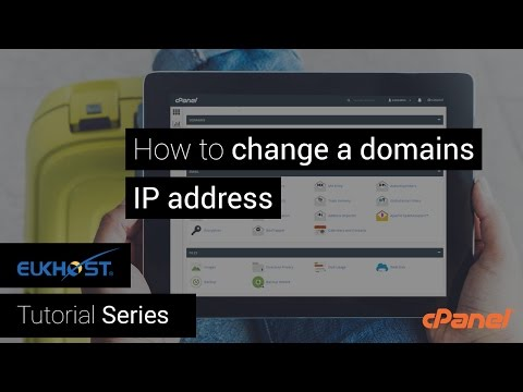 How to change a domains IP address in WHM/cPanel
