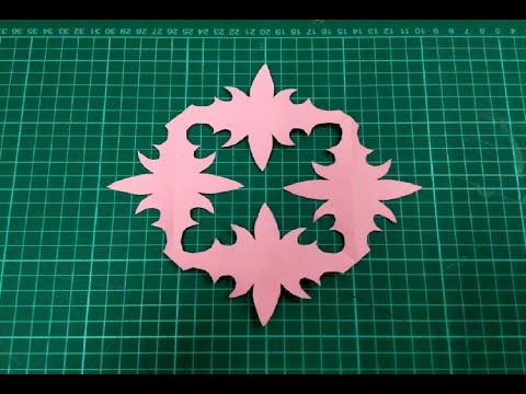 DIY Kirigami / Paper Cutting Craft Designs, Patterns & Templates - 3.
