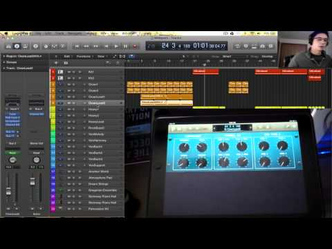 Logic Pro X Tutorial - Logic Remote iPad App