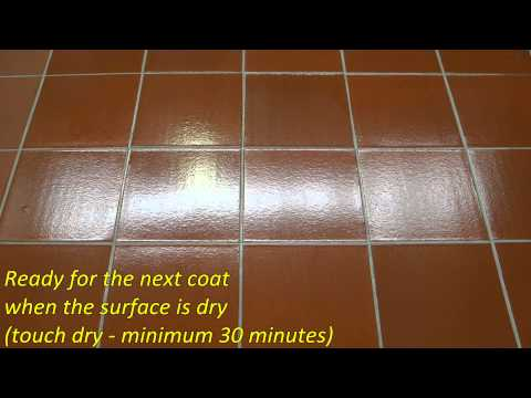 How to apply a High Gloss Finish - Aqua-Seal STS