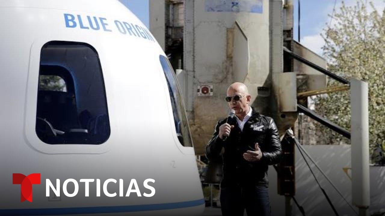 Vea el primer viaje de Jeff Bezos al espacio en su nave 'New Shepard'