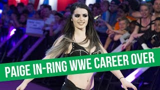 Paige Forced To Retire From In-Ring WWE Competiton