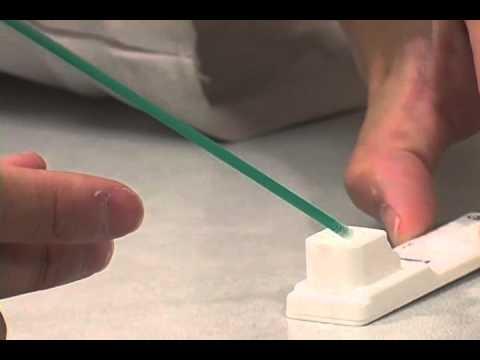 QuickVue Rapid Strep A test.mov